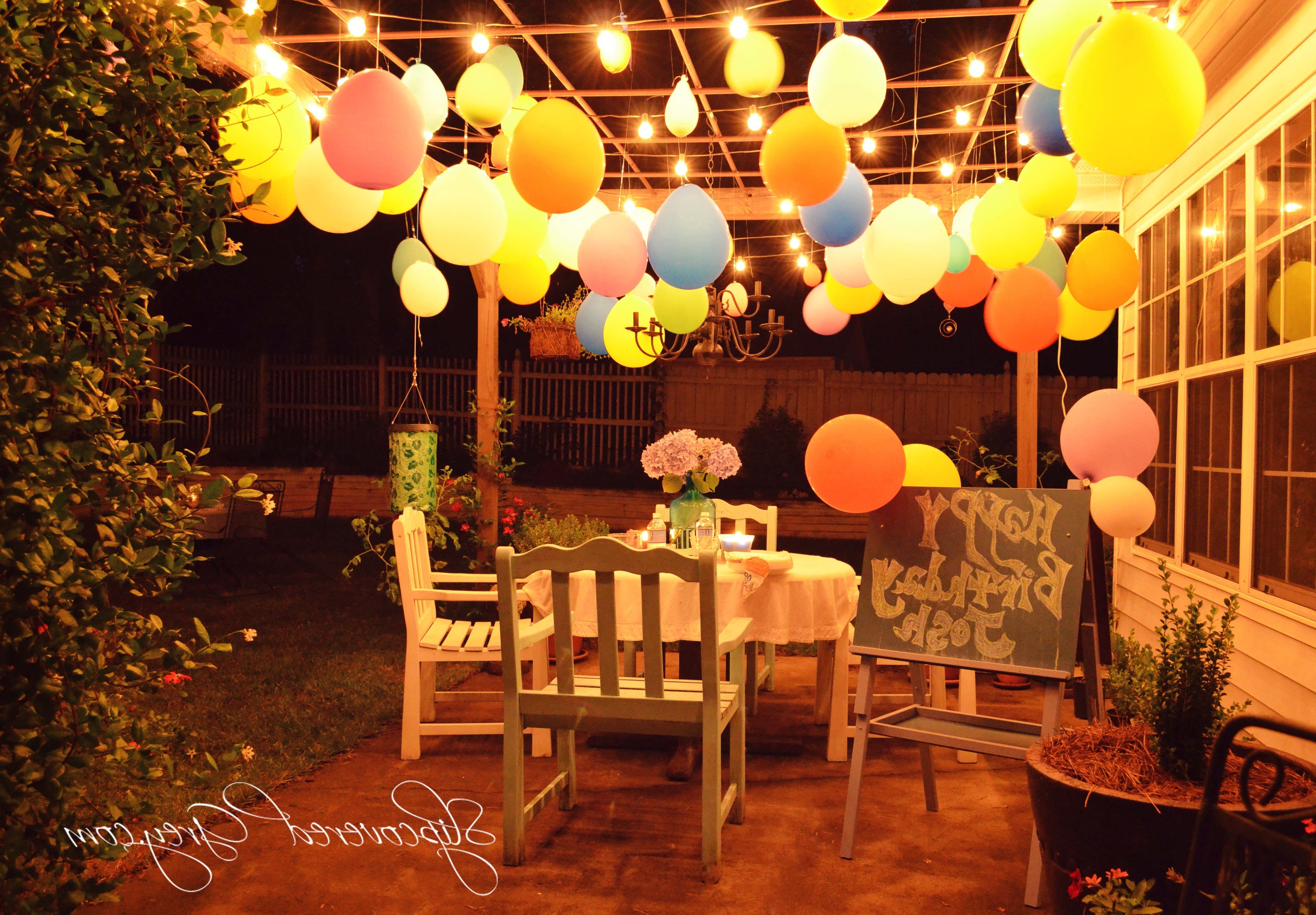 Most Current Outdoor Lanterns For Parties In Backyard Party With Lanterns (View 7 of 20)