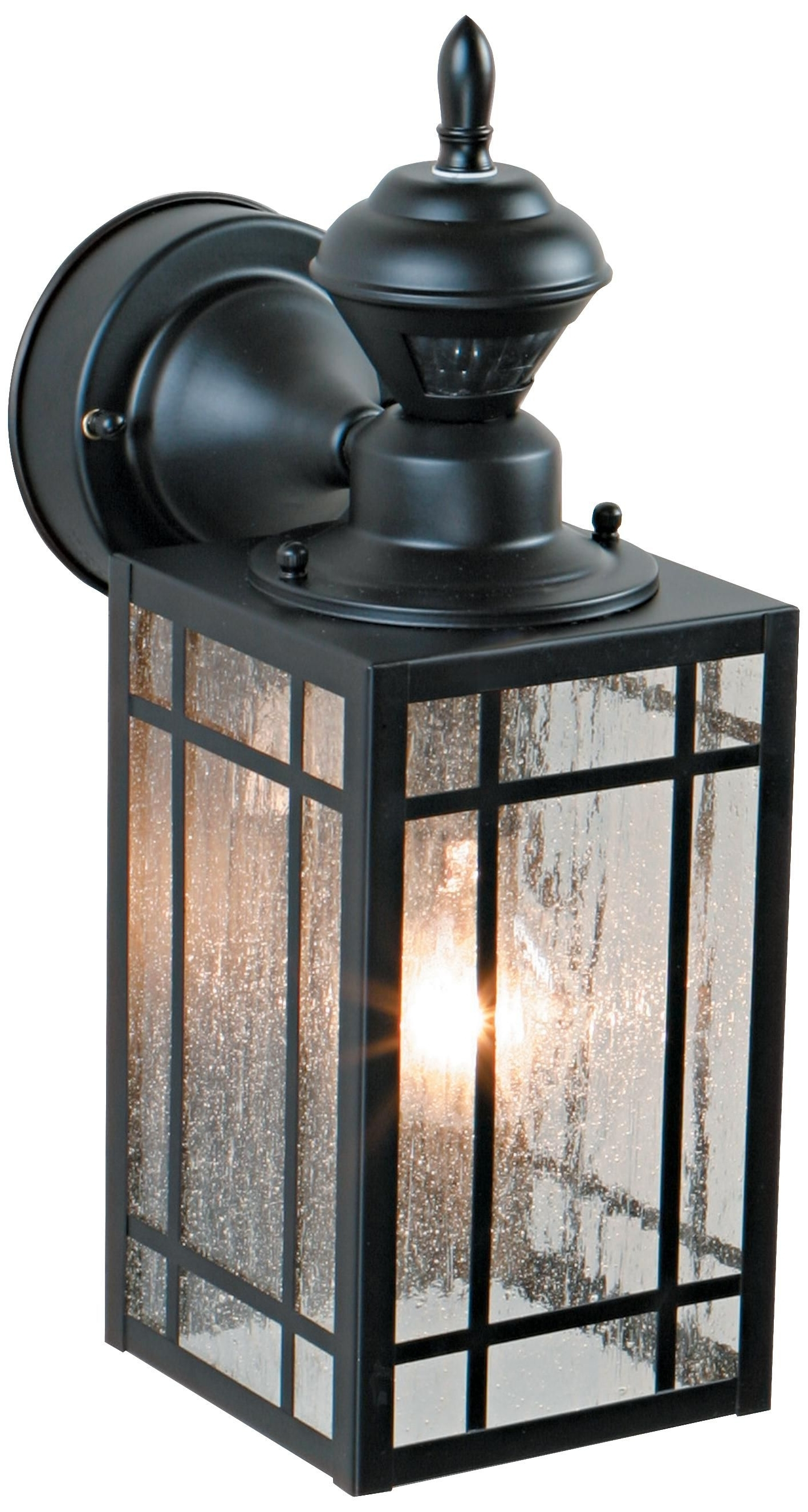 "Most Current Outdoor Motion Lanterns Regarding Point Grove 14 1/4"" High Motion Sensor Outdoor Light Hard To Find A (View 19 of 20)"