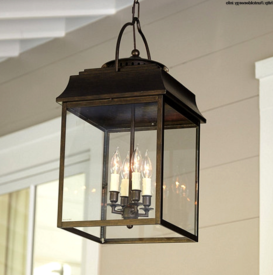 Most Current Outdoor Pendant Lanterns With Interior (View 4 of 20)
