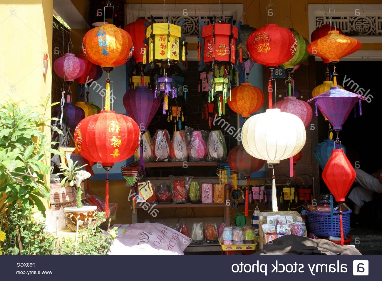 Most Current Outdoor Vietnamese Lanterns Within Shop Hoi An Stock Photos & Shop Hoi An Stock Images – Alamy (View 20 of 20)
