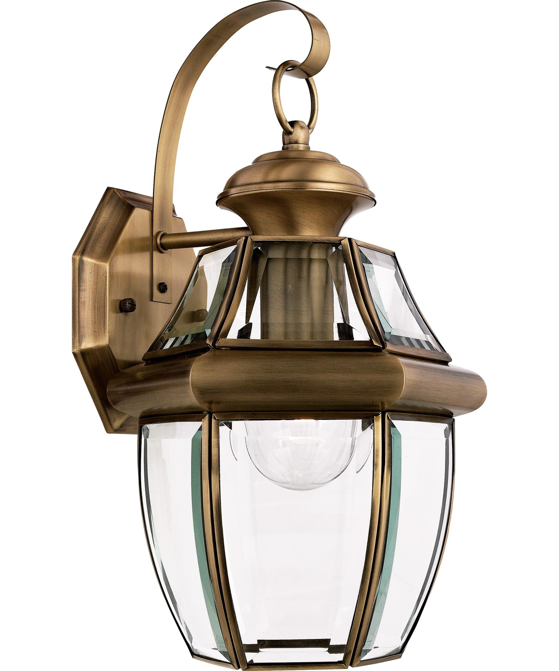 Most Current Quoizel Ny8316 Newbury 9 Inch Wide 1 Light Outdoor Wall Light With Quoizel Outdoor Lanterns (Gallery 14 of 20)
