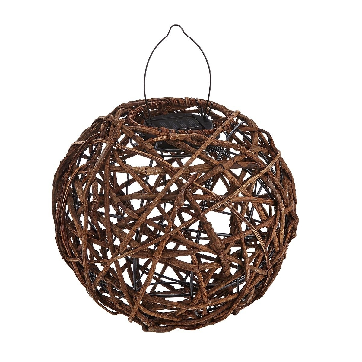 Most Current Rattan Solar Lantern (View 7 of 20)