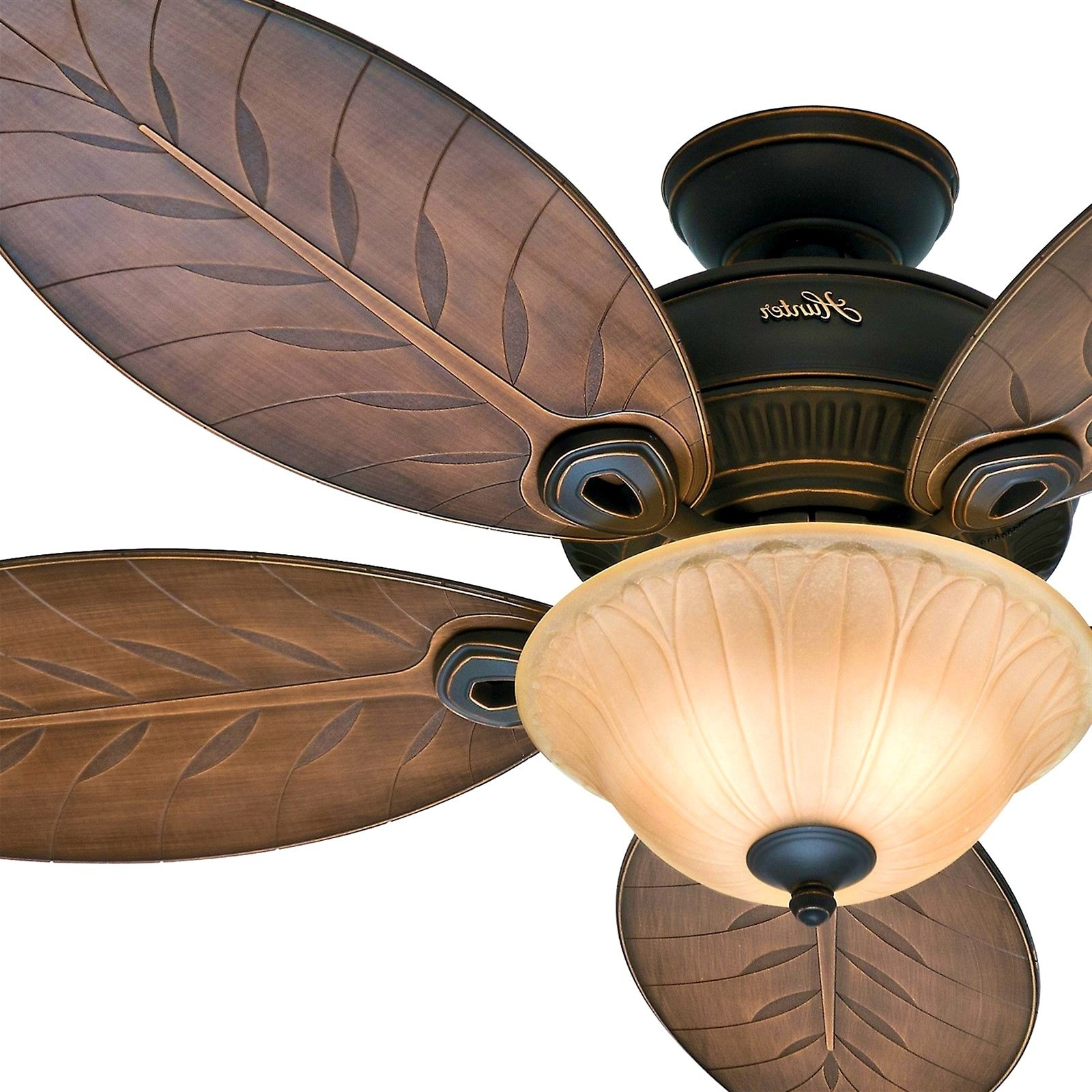 Most Popular 52 Inch Outdoor Ceiling Fans With Lights Regarding Hunter Outdoor Ceiling Fans With Lights Inspirational Home (View 13 of 20)