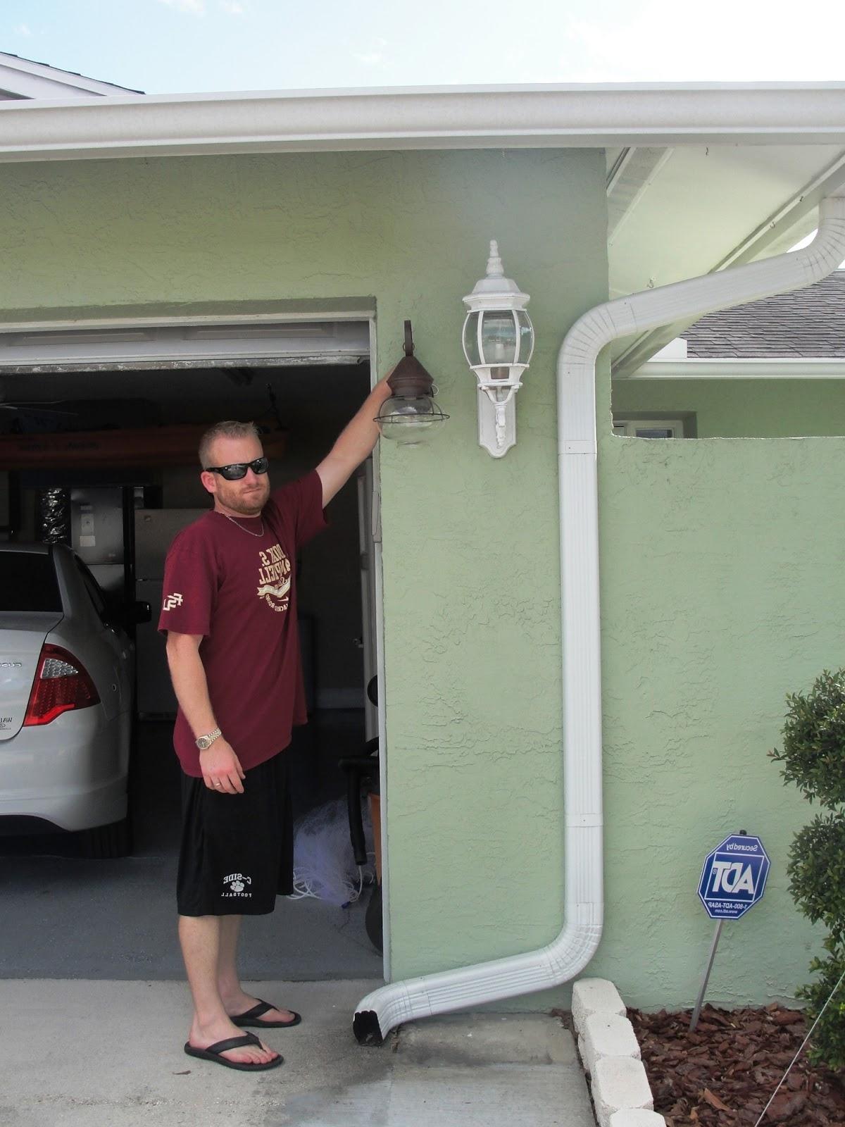 Most Popular All Things Harrigan: Outdoor Lighting Regarding Outdoor Lanterns For Garage (View 8 of 20)