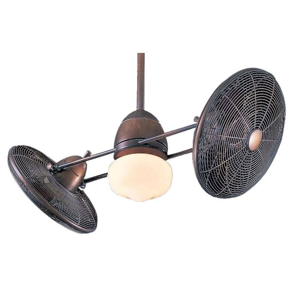 Most Popular Ceiling Fan: Awesome Gyro Ceiling Fan Design Antique Gyro Ceiling Regarding Dual Outdoor Ceiling Fans With Lights (View 16 of 20)
