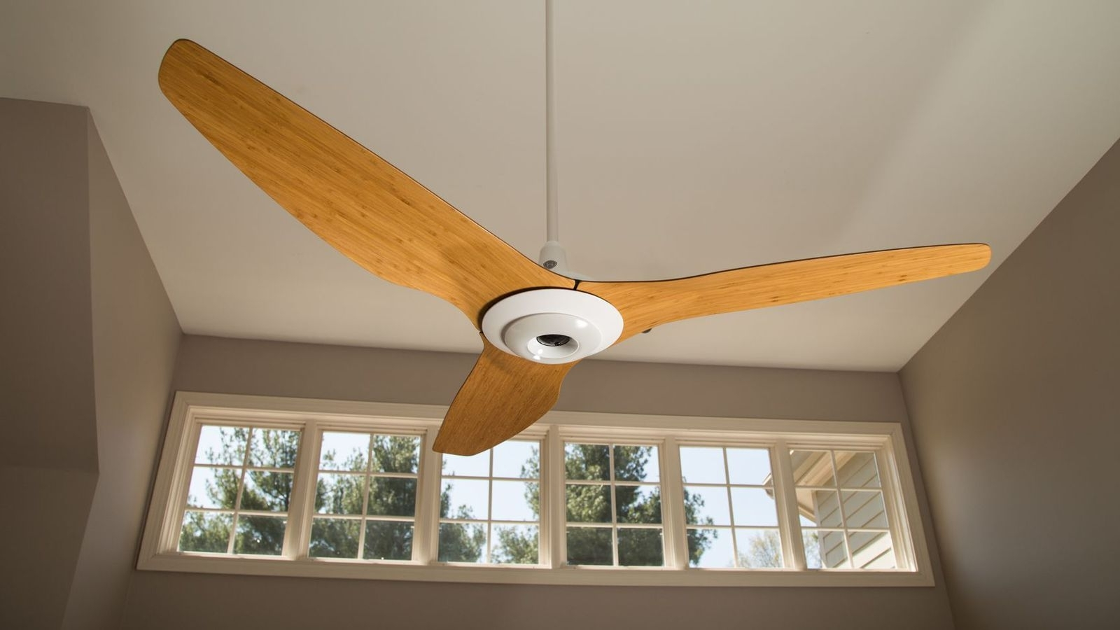 Most Popular Expensive Outdoor Ceiling Fans Inside Are Connected Ceiling Fans The Ultimate Smart Home Splurge? – Cnet (View 16 of 20)