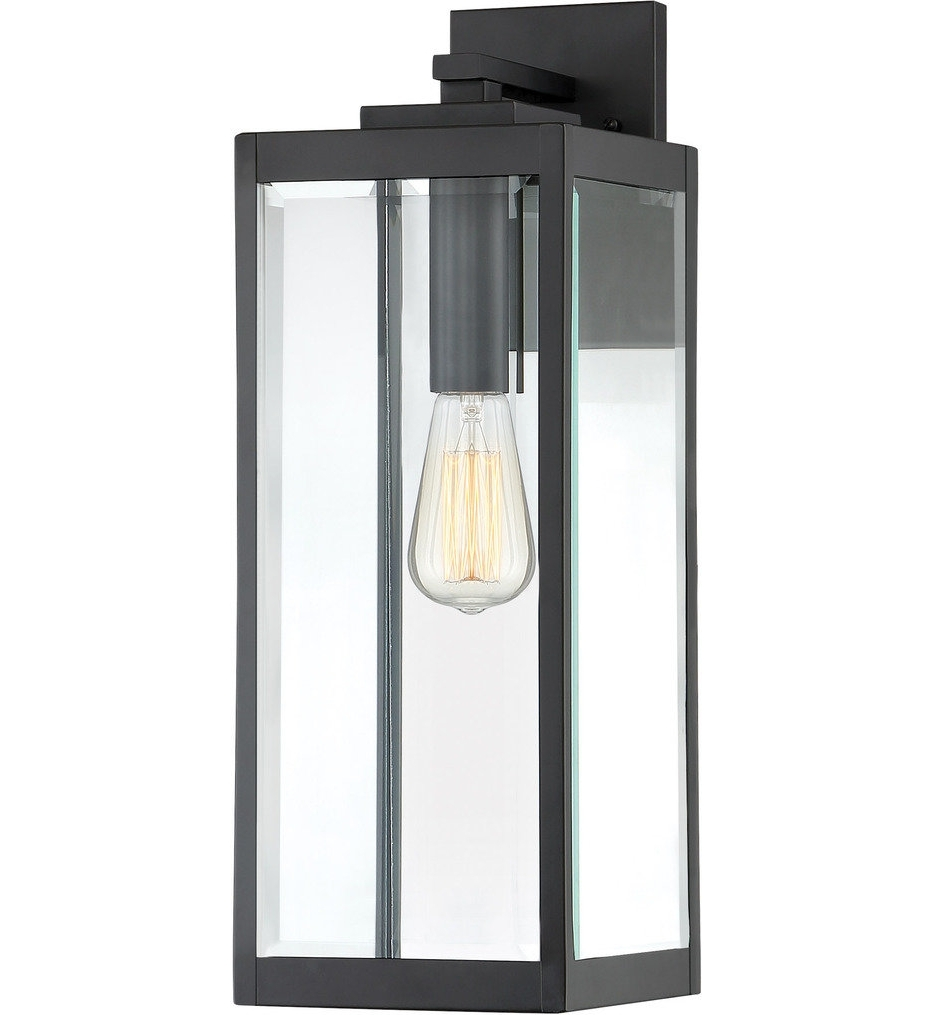 Most Popular Lamps: Quoizel – Wvr8407Ek – Westover Earth Black 20 Inch Throughout Quoizel Outdoor Lanterns (View 7 of 20)