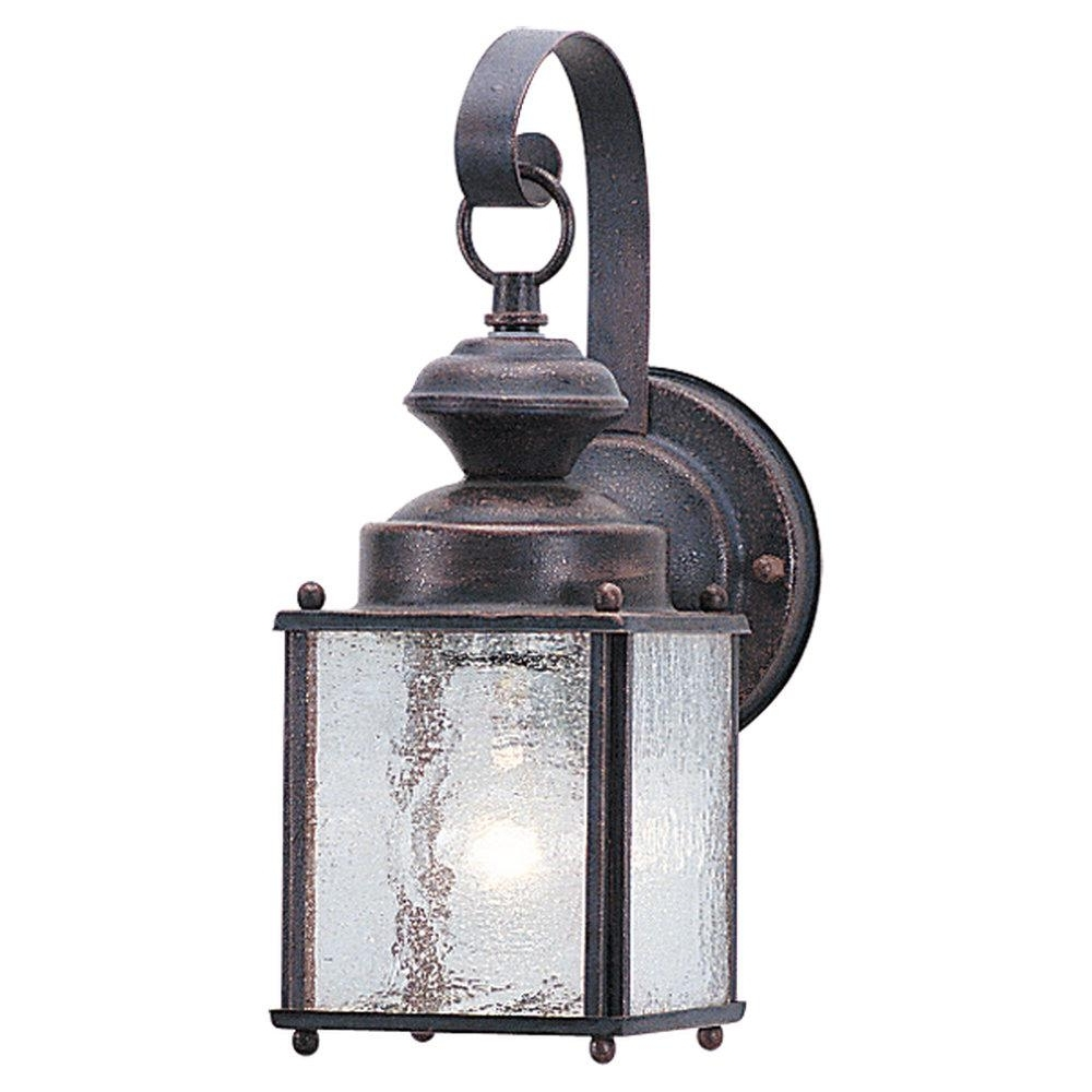 Most Popular One Light Outdoor Wall Lantern : 8880 08 (Gallery 12 of 20)