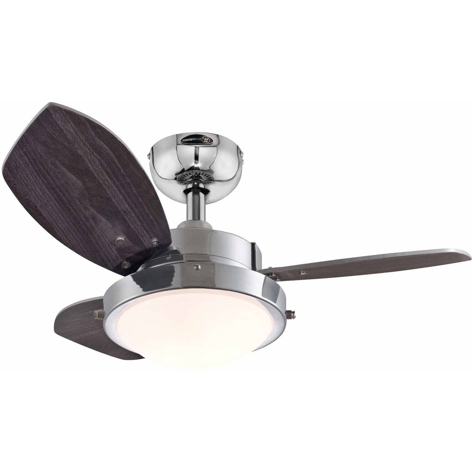 "Most Popular Outdoor Ceiling Fan With Brake With Regard To Westinghouse 7224300 24"" Quince Reversible Indoor Ceiling Fan (View 19 of 20)"