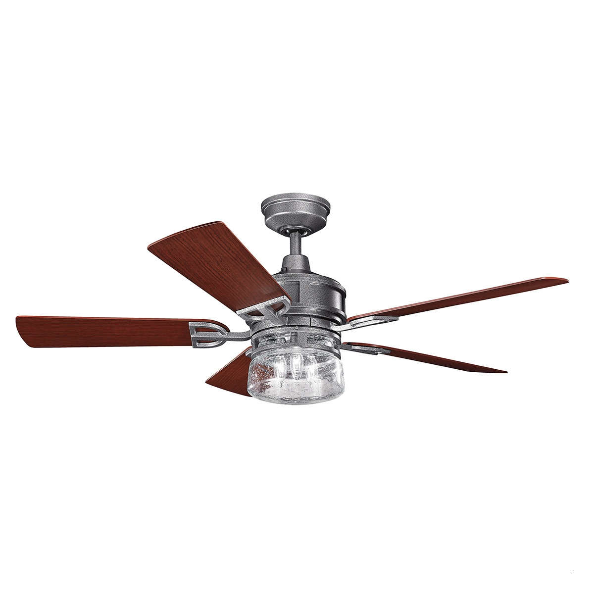 "Most Popular Outdoor Ceiling Fans With Lights Wet Rated Attractive 52"" Lyndon Throughout Wet Rated Outdoor Ceiling Fans With Light (View 12 of 20)"