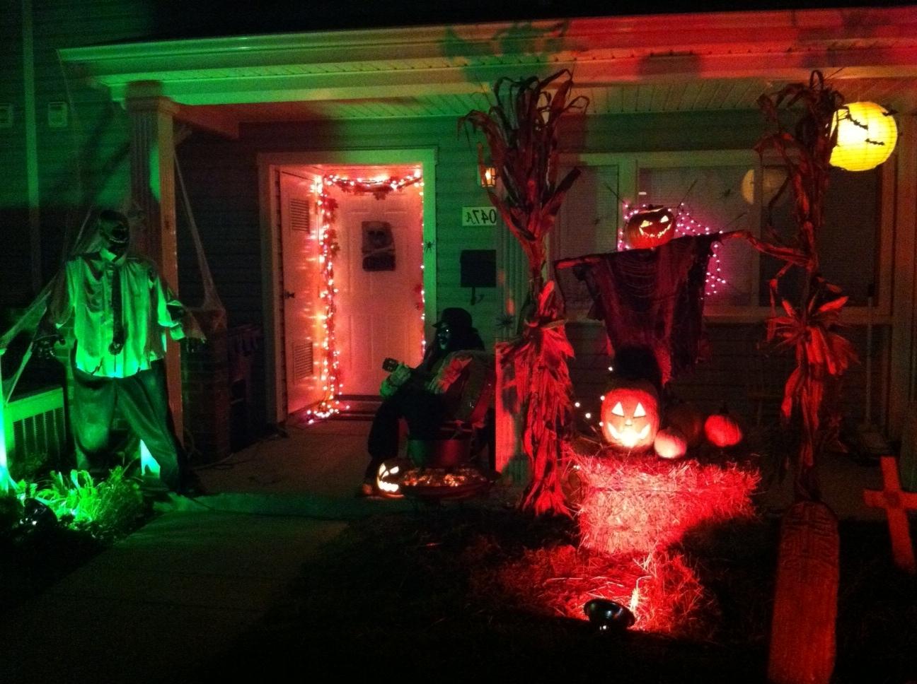 Most Popular Outdoor Halloween Decorations – Weneedfun Pertaining To Outdoor Halloween Lanterns (View 9 of 20)