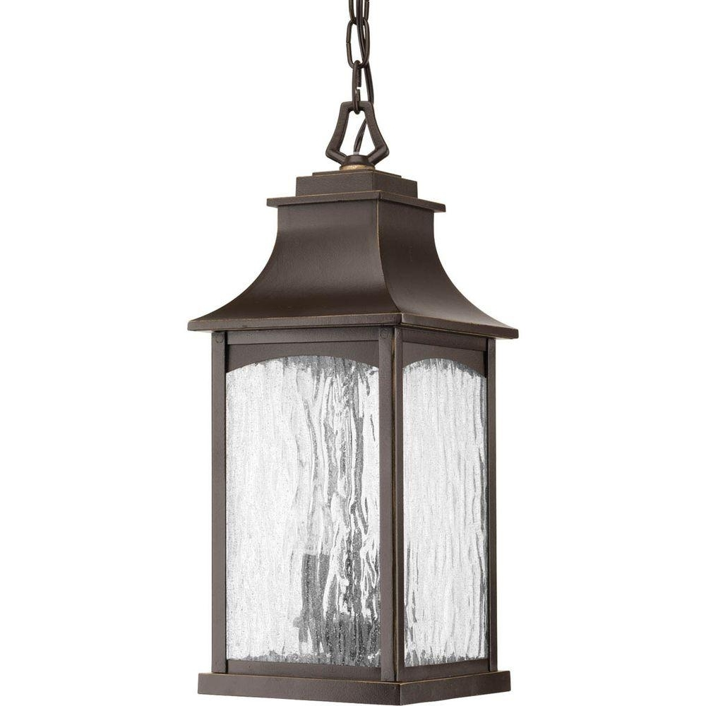 Most Popular Outdoor Hanging Oil Lanterns For Progress Lighting Maison Collection 2 Light Outdoor Oil Rubbed (View 2 of 20)