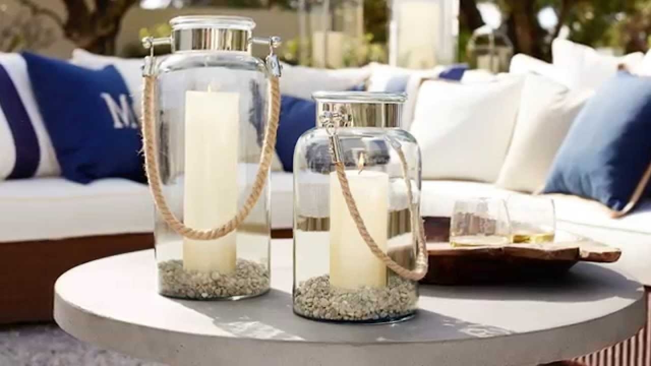Most Popular Outdoor Lanterns And Candles For Outdoor Coffee Table Decor (View 3 of 20)