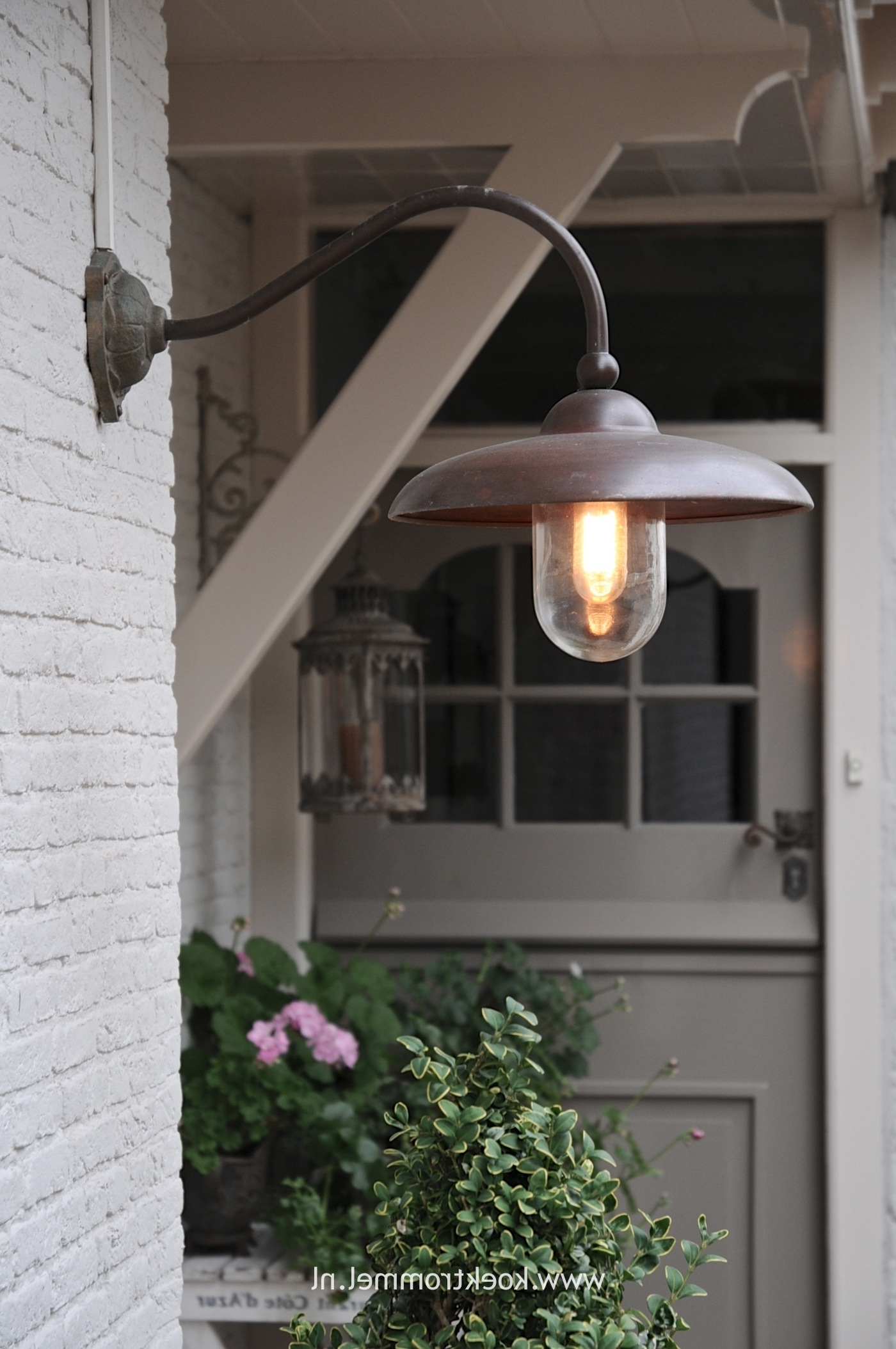 Most Popular Outdoor Lanterns For Garage Intended For Front Porch Pendant Light Hanging Height Outdoor Lantern Lights See (View 9 of 20)