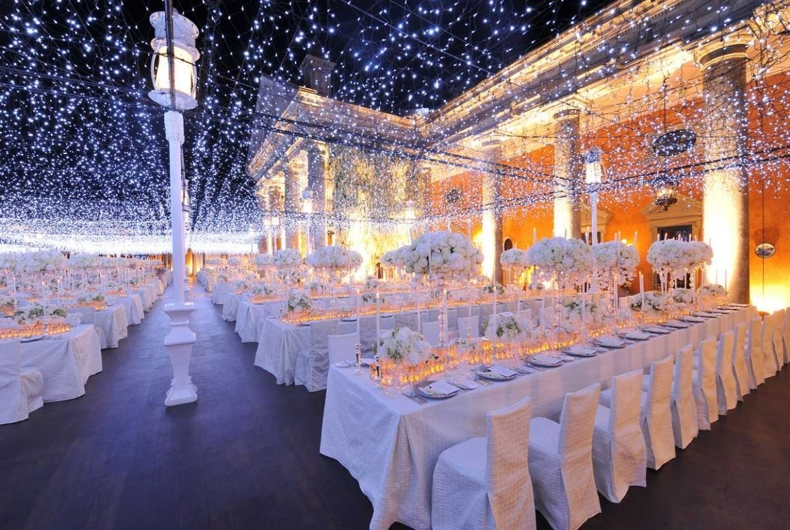 Most Popular Outdoor Lanterns For Wedding Within Outdoor Wedding Lights For House (View 6 of 20)