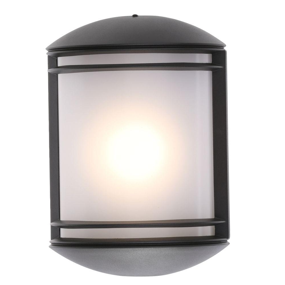 Most Popular Outdoor Mounted Lanterns Intended For Exciting Lighting Vivid Series Wall Mounted Indoor Outdoor Burl Dark (View 20 of 20)