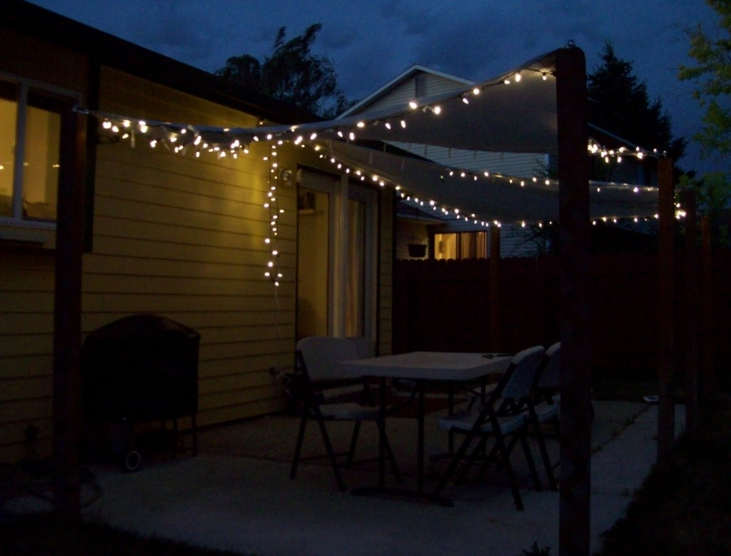 Most Popular Outdoor String Lights Patio Ideas — The New Way Home Decor : Patio With Outdoor Lawn Lanterns (View 9 of 20)