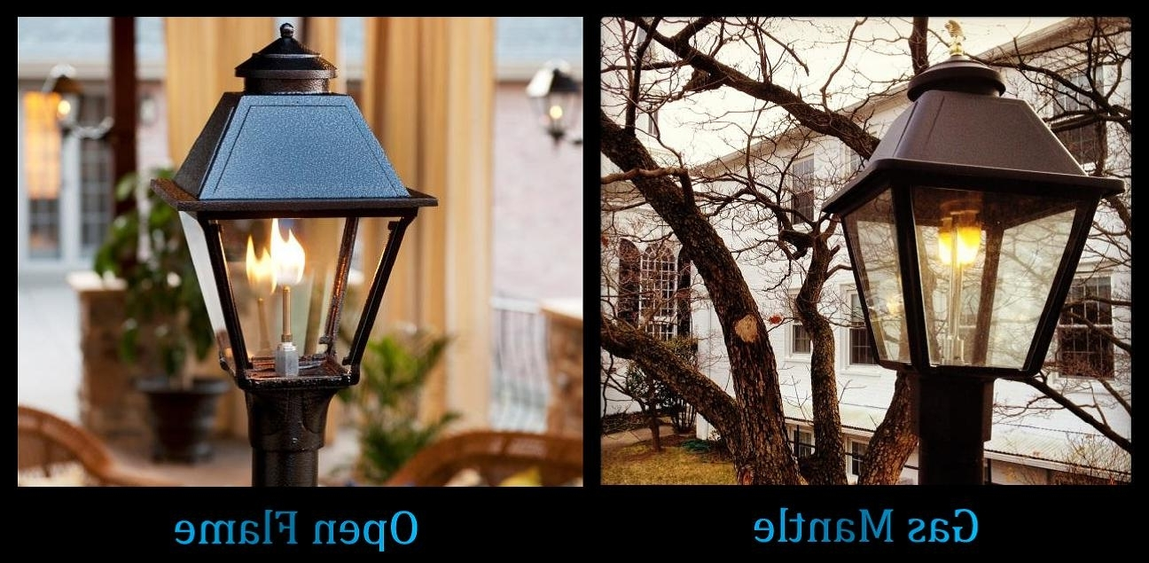Most Popular Quality Outdoor Gas Lamps Electric Lamps Lanterns Home Patio Street Regarding Outdoor Gas Lanterns (View 8 of 20)