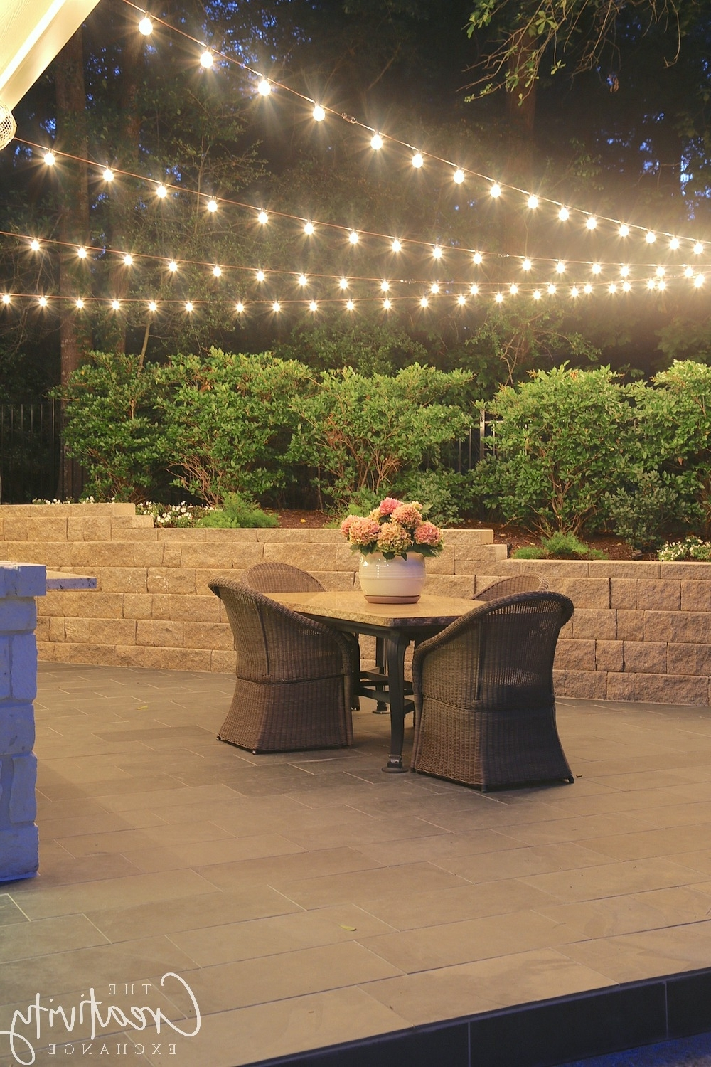 Most Popular Quick Tips For Hanging Outdoor String Lights Intended For Outdoor String Lanterns (View 8 of 20)