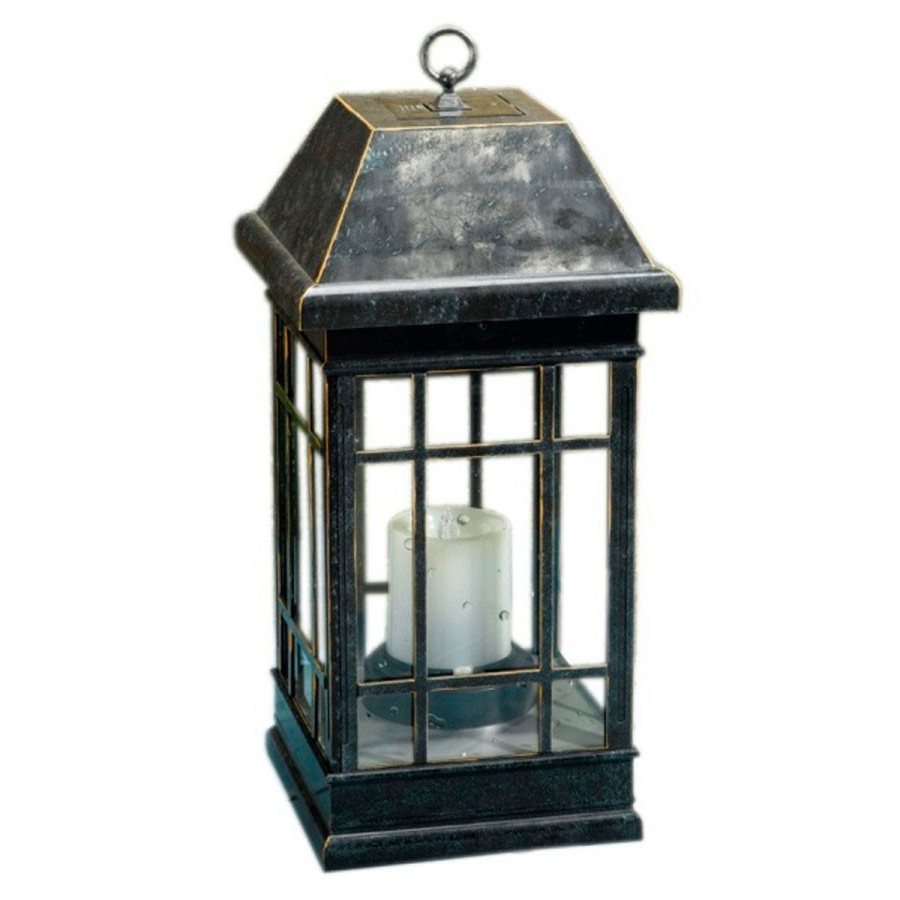 Most Popular Seville Solar Lantern Intended For Resin Outdoor Lanterns (View 4 of 20)
