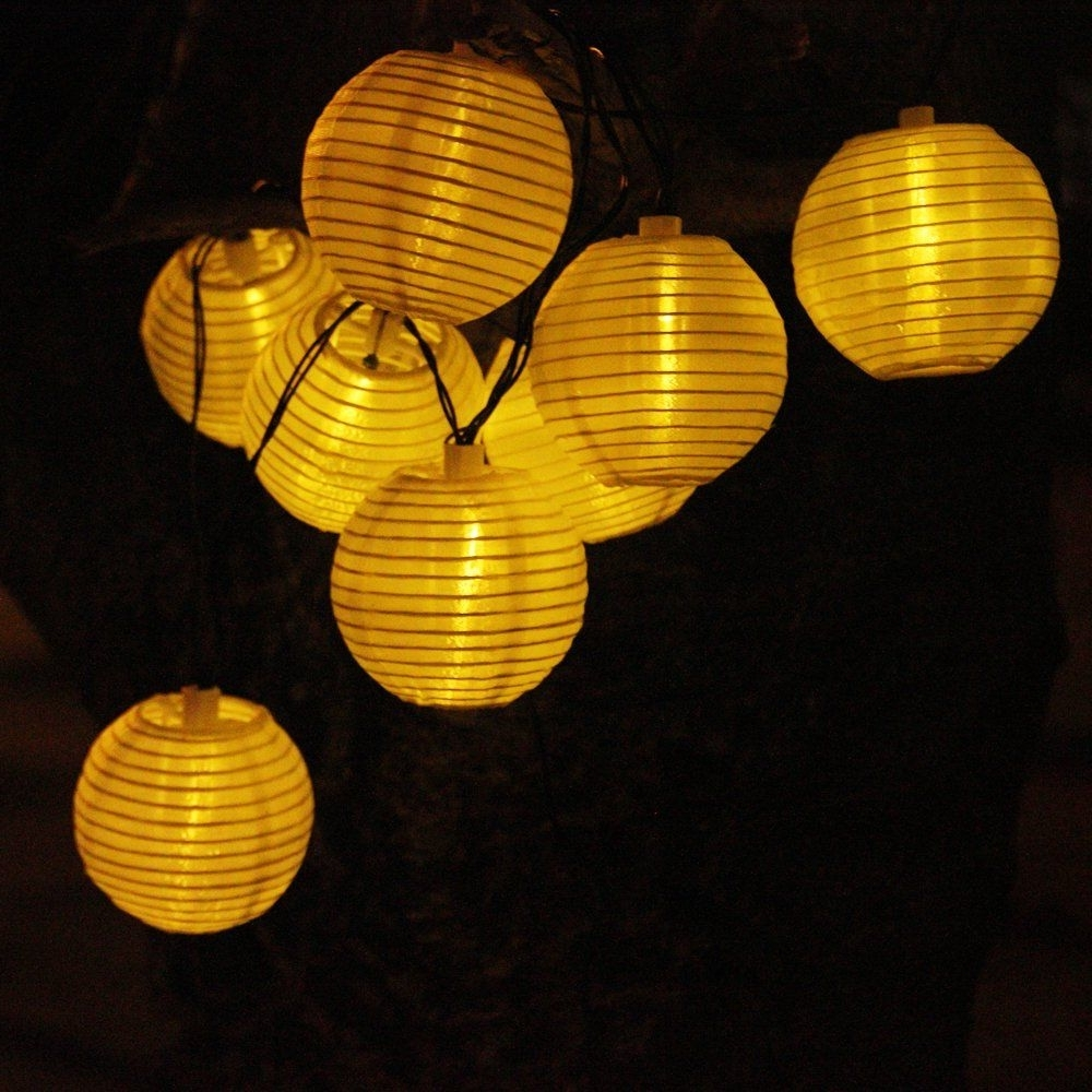 Most Popular Solar String Lights Outdoor  (View 14 of 20)