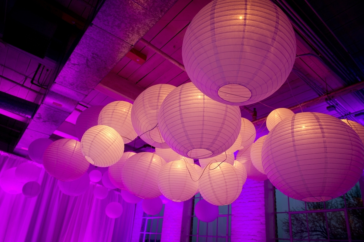 Most Recent Creating A Unique Lighting Experience With Round Paper Lanterns In Outdoor Round Lanterns (View 2 of 20)