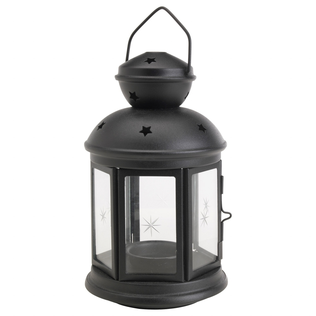 Most Recent Ikea Outdoor Lanterns For Exterior: Outdoor Decorative Lantern Lovely Rotera Lantern Black  (View 15 of 20)