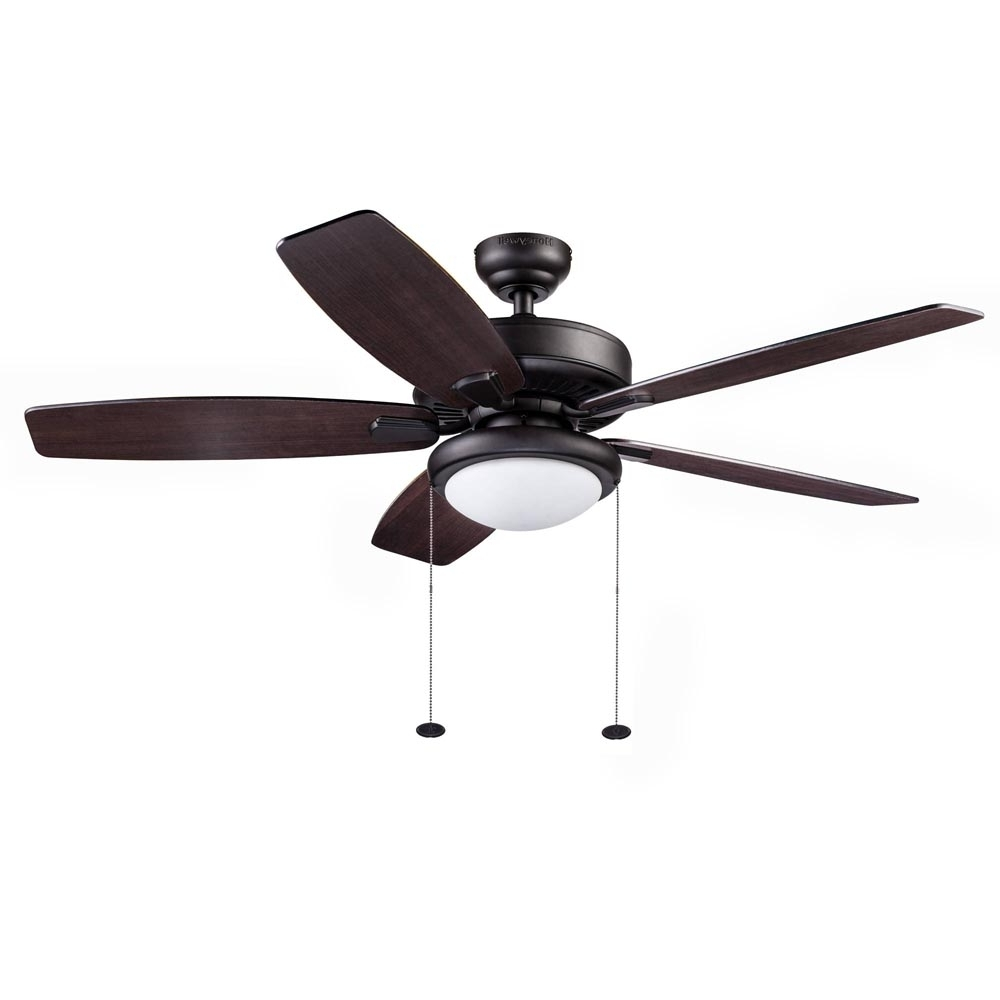 Most Recent Outdoor Ceiling Fans At Walmart Pertaining To Honeywell Blufton Outdoor Ceiling Fan, Bronze, 52 Inch – (View 2 of 20)