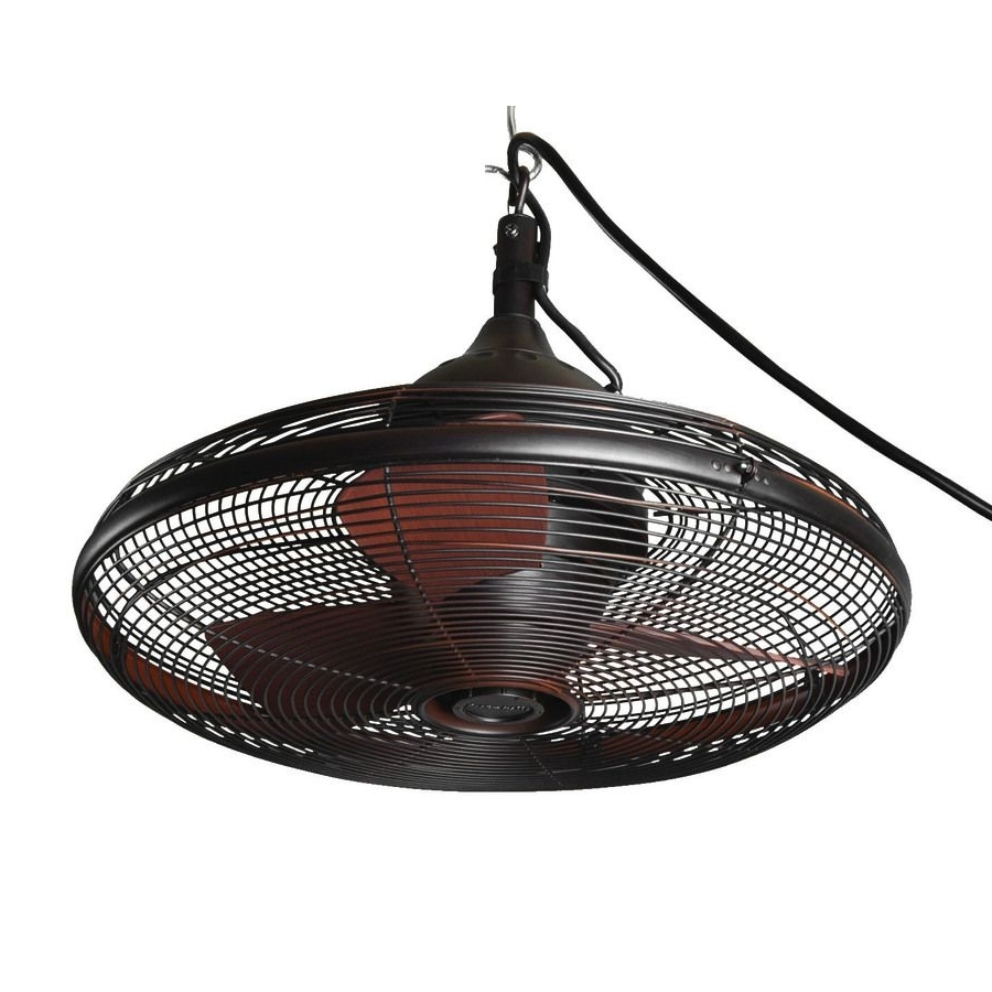 Most Recent Outdoor Ceiling Fans For Gazebos With Regard To Shop Allen + Roth Valdosta 20 In Oil Rubbed Bronze Outdoor Downrod (View 4 of 20)