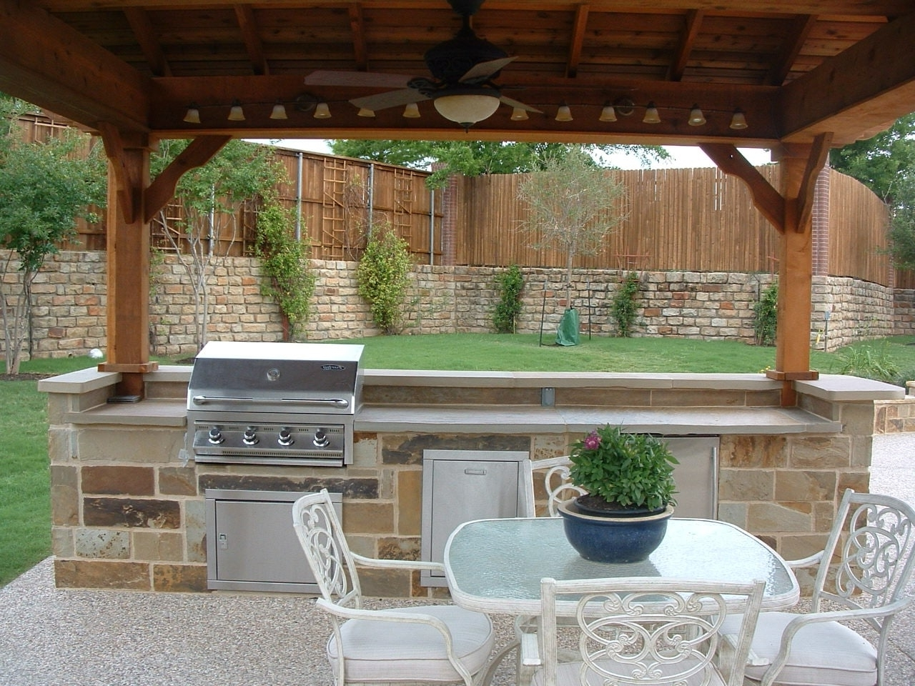 Most Recent Outdoor Ceiling Fans Under Pergola In Modern Outdoor Ceiling Fan With Light — Sherizampelli Landscape (View 10 of 20)