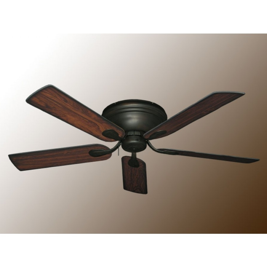 Most Recent Outdoor Ceiling Fans With Removable Blades Regarding Flush Mount Ceiling Fans, Stratus Ceiling Fan (View 9 of 20)