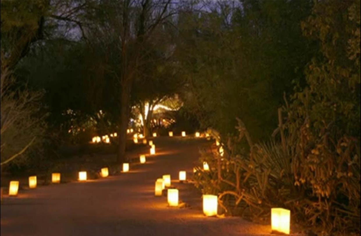 Most Recent Outdoor Lighting Japanese Lanterns Within 38 Innovative Outdoor Lighting Ideas For Your Garden (View 10 of 20)