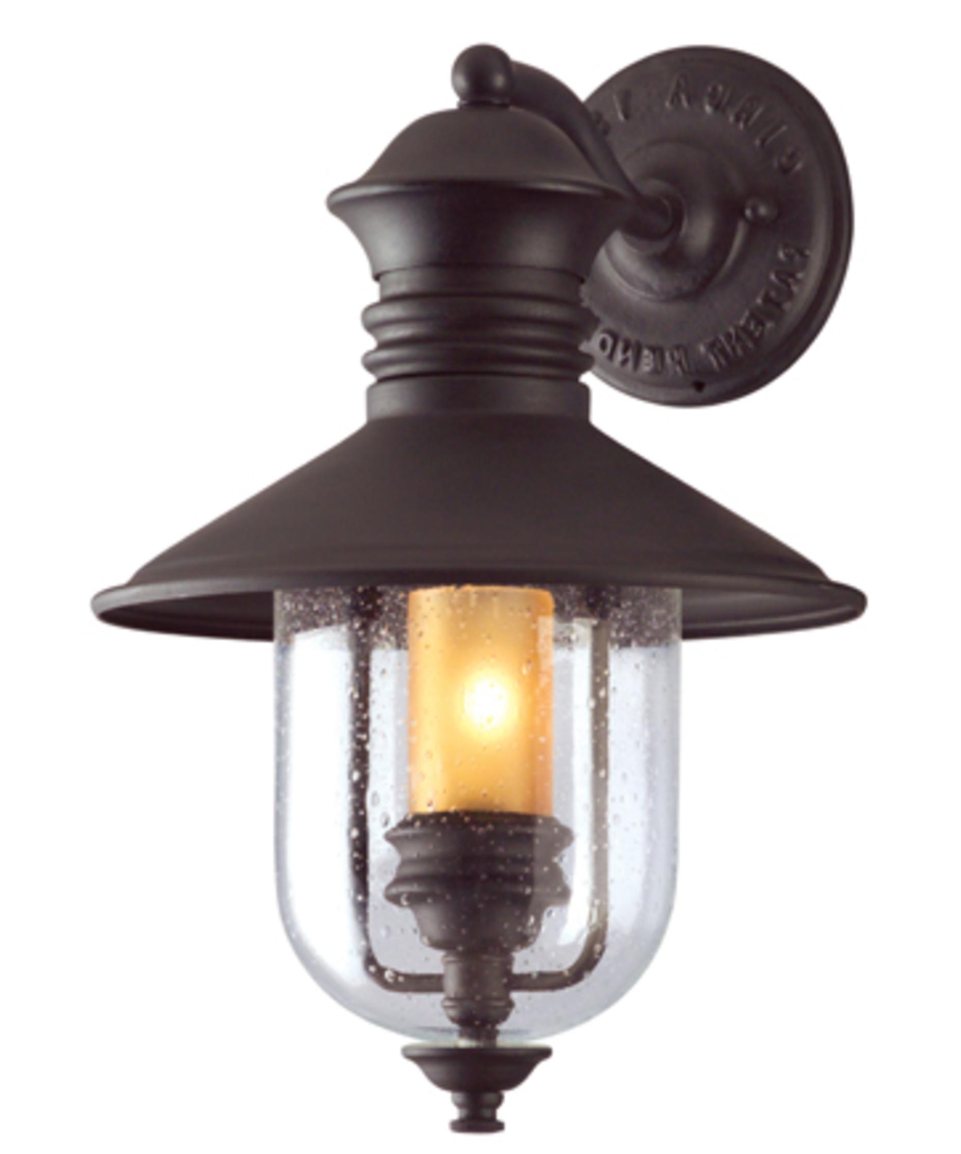 Most Recent Outdoor Nautical Lanterns Inside Troy Lighting B9360 Old Town 11 Inch Wide 1 Light Outdoor Wall Light (View 11 of 20)