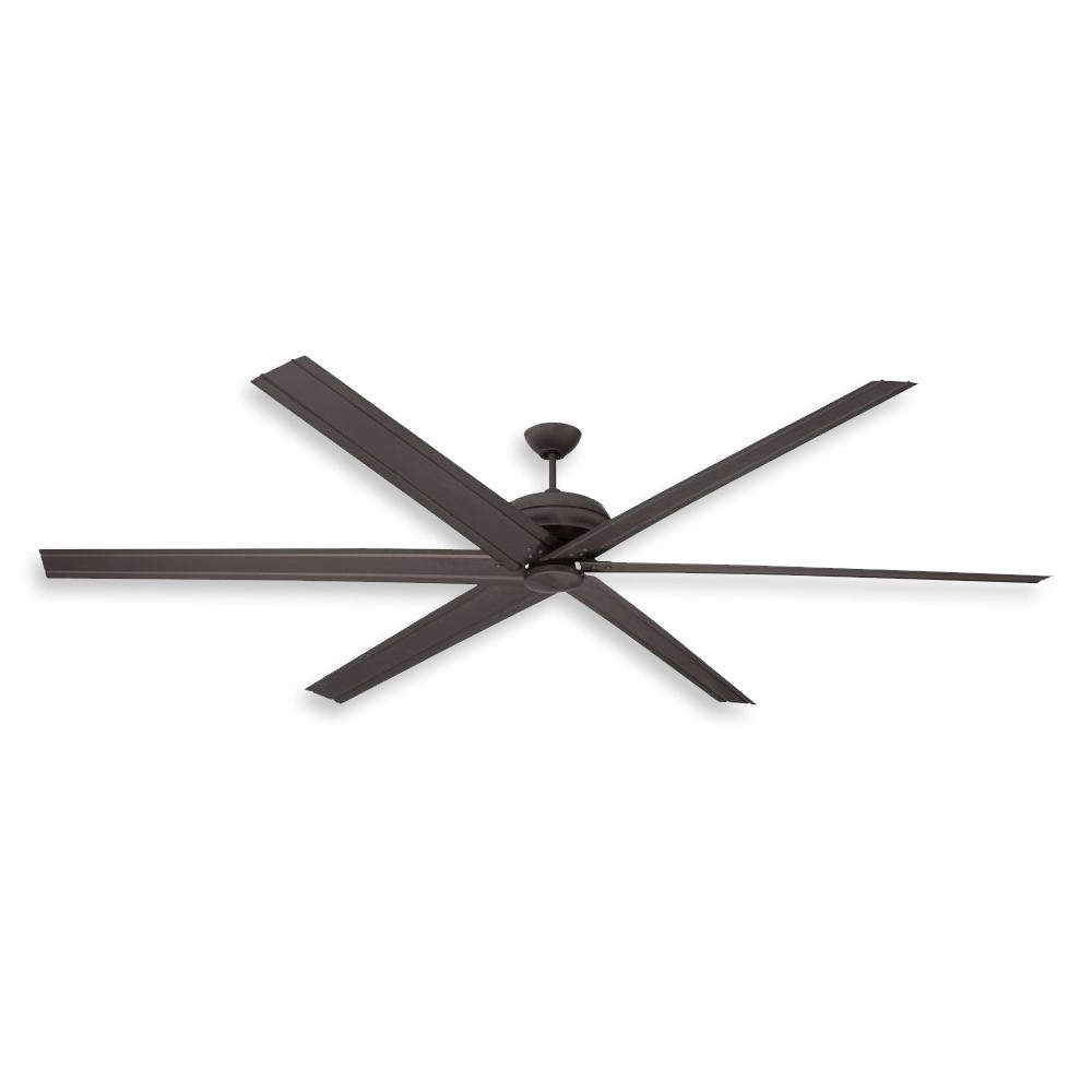 Most Recent Oversized Outdoor Ceiling Fans Pertaining To 96 Inch Colossus Ceiling Fancraftmade – Commercial Or (Gallery 7 of 20)