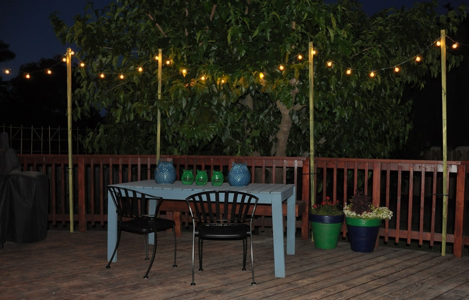 Most Recent Peaceably Patio Lighting Options Ways To Light Up Your Patio To Pertaining To Outdoor Hanging Lanterns For Patio (View 9 of 20)