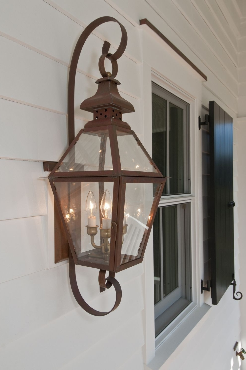 Most Recent The Tradd Street Ii Lantern — Gas Or Electric (View 17 of 20)