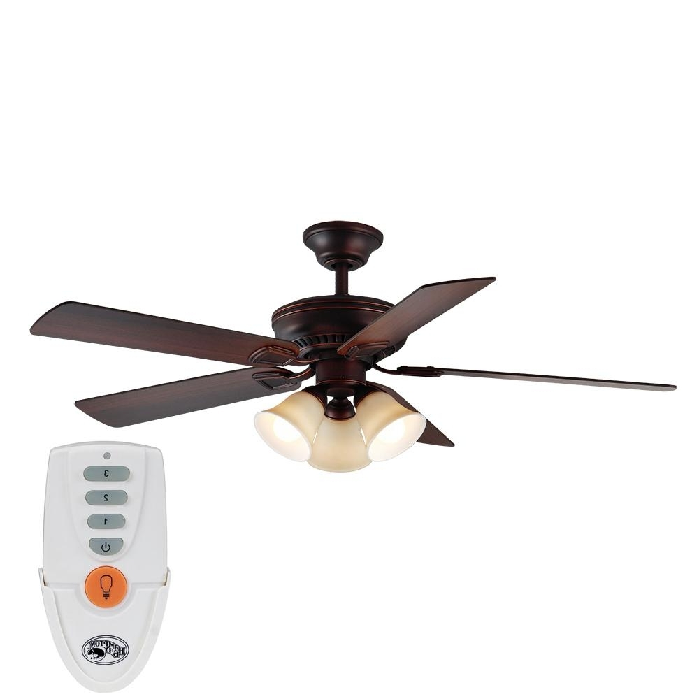 Most Recent Victorian Outdoor Ceiling Fans With Indoor – Ceiling Fans – Lighting – The Home Depot (View 13 of 20)