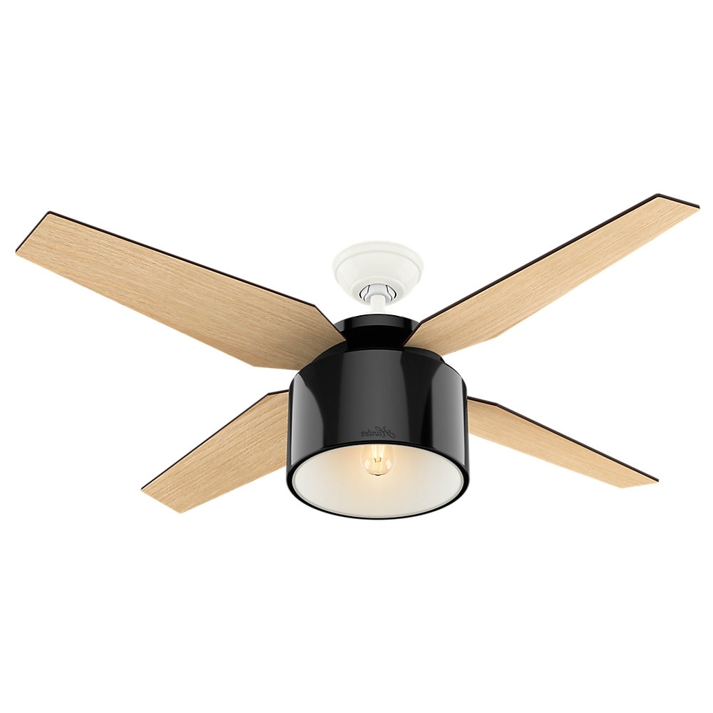 "Most Recently Released 52"" Cranbrook 4 Blade Ceiling Fan With Remote & Reviews (View 20 of 20)"