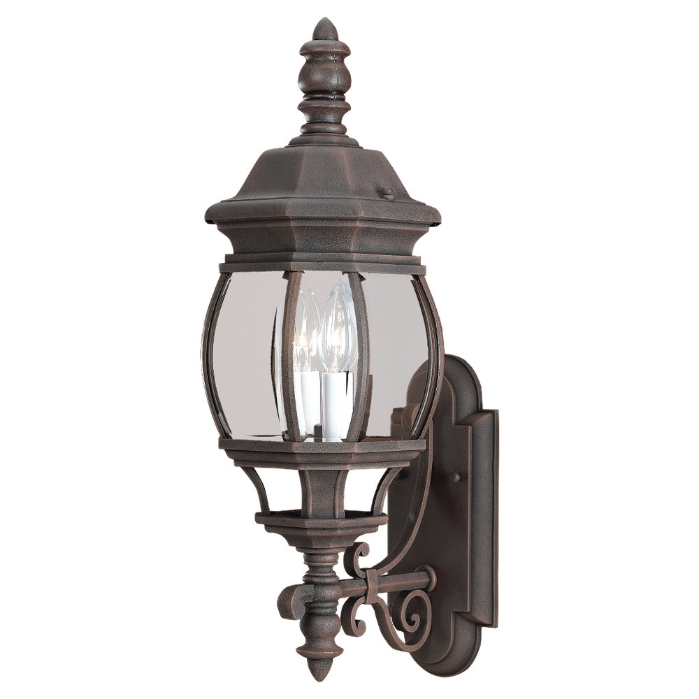 Most Recently Released 88201 821,two Light Outdoor Wall Lantern,tawny Bronze With Outdoor Lighting Onion Lanterns (View 12 of 20)