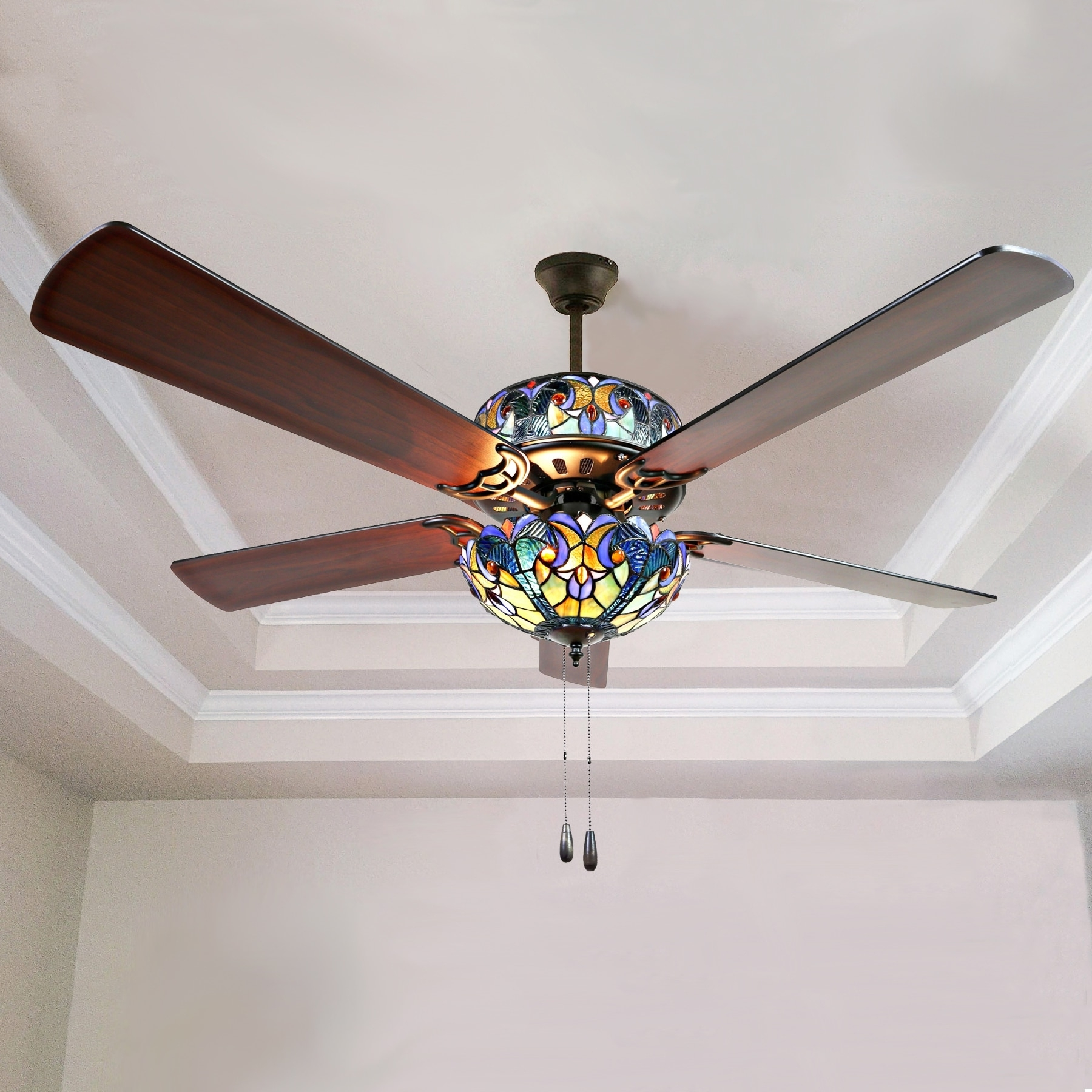 Most Recently Released Buy Ceiling Fans Online At Overstock (View 13 of 20)