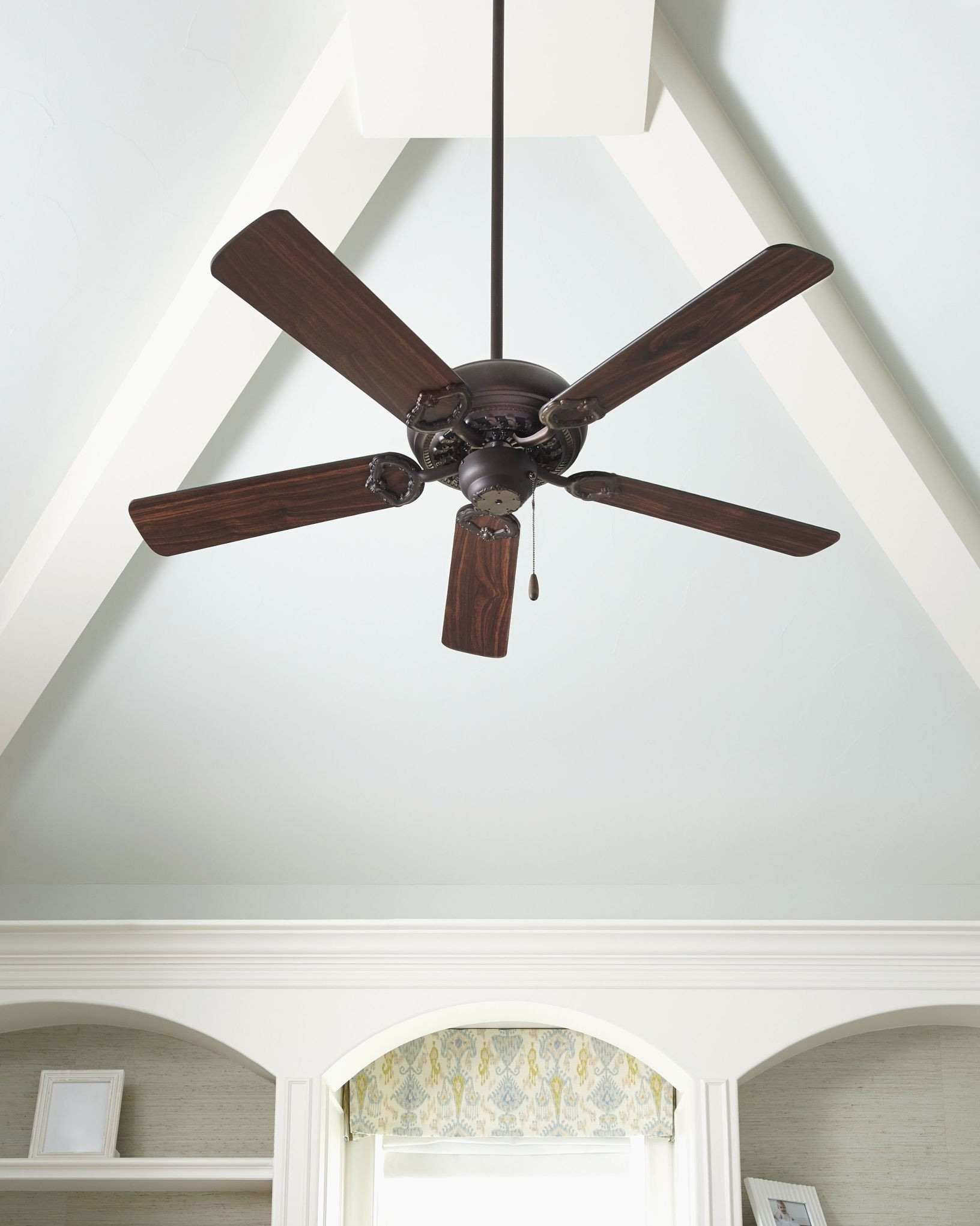 Most Recently Released Indoor Pottery Barn Ceiling Fans With Lights Perfect Quorum With Regard To Outdoor Ceiling Fans For Barns (View 6 of 20)
