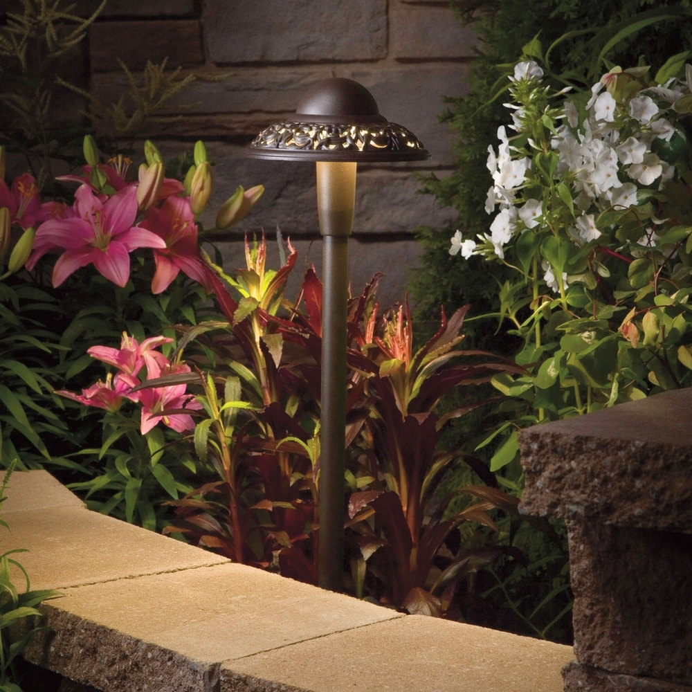 Most Recently Released Kichler Outdoor Lanterns Inside Landscape Lighting — Granulawn (View 17 of 20)