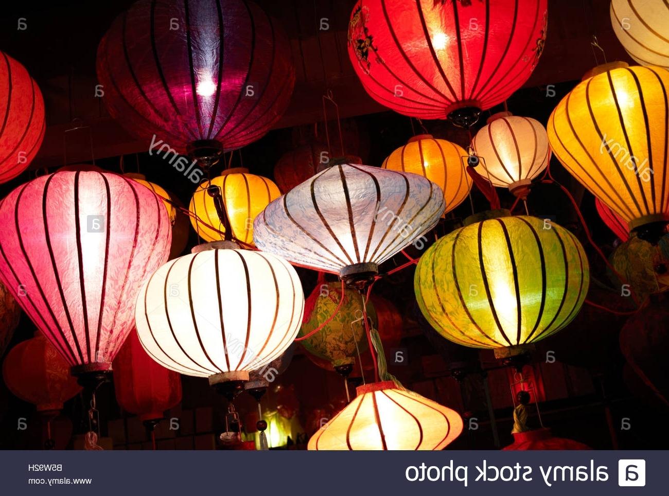 Most Recently Released Lantern Stall Stock Photos & Lantern Stall Stock Images – Alamy Regarding Outdoor Vietnamese Lanterns (View 19 of 20)