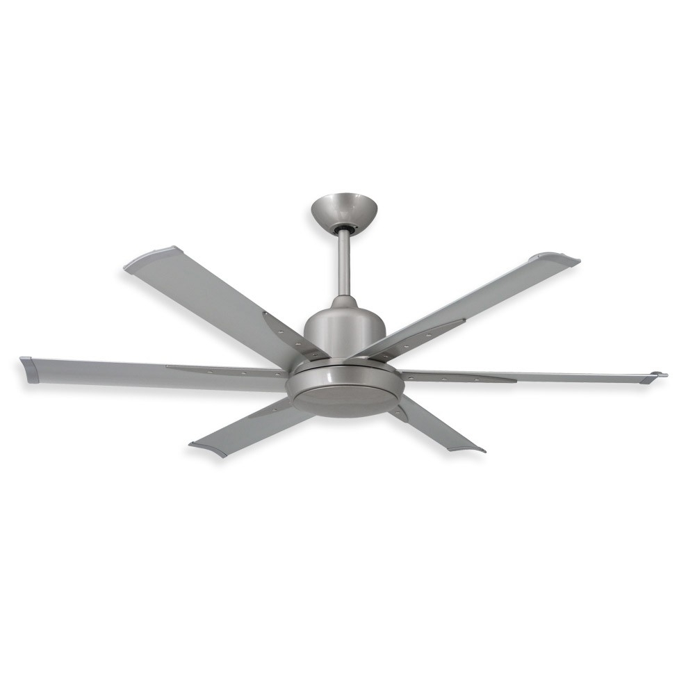 Most Recently Released Nickel Outdoor Ceiling Fans With 52 Inch Dc 6 Ceiling Fantroposair – Commercial Or Residential (View 12 of 20)