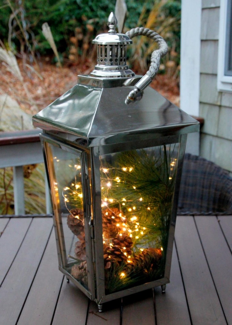 Most Recently Released Outdoor Candles Lanterns And Lighting Intended For Outdoor Lanterns At Argos (View 10 of 20)