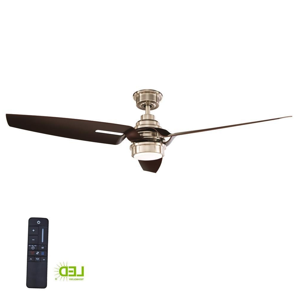 Most Recently Released Outdoor Ceiling Fans With Dc Motors Throughout Home Decorators Collection Iron Crest 60 In (View 10 of 20)