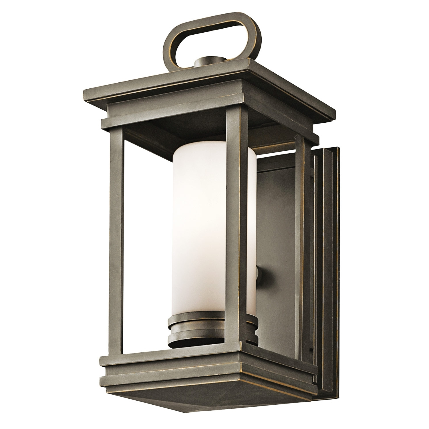 Most Recently Released Outdoor Lanterns At Argos Inside Fixtures Light : Excellent Outdoor Wall Lighting Brushed Nickel (View 11 of 20)