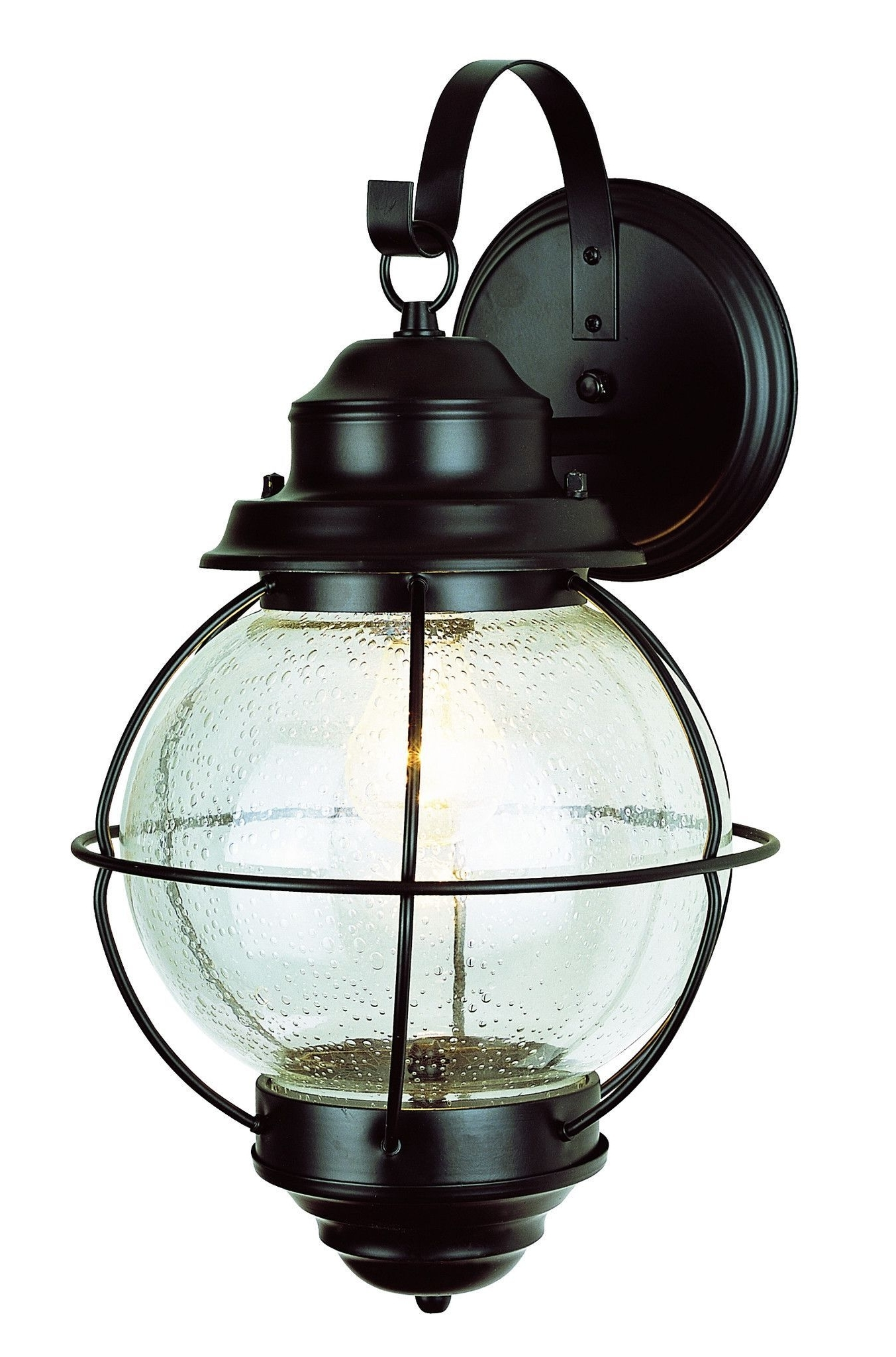 "Most Recently Released Outdoor Lighting Onion Lanterns Intended For Trans Globe Lighting 69904 Bk Onion Lantern Wall Mount 19"" Black (View 6 of 20)"