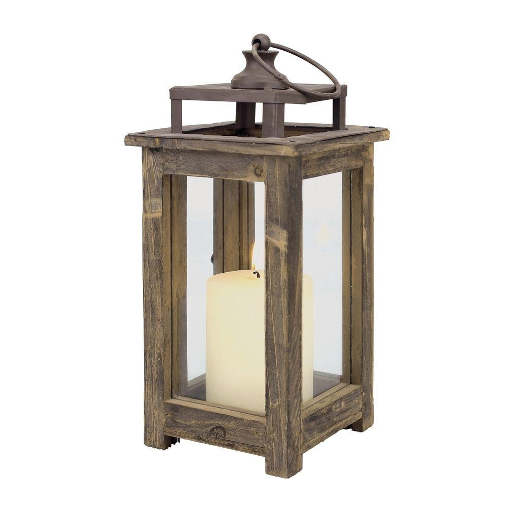 Most Recently Released Outdoor Rustic Lanterns Inside Stonebriar Collection 12 In (View 6 of 20)