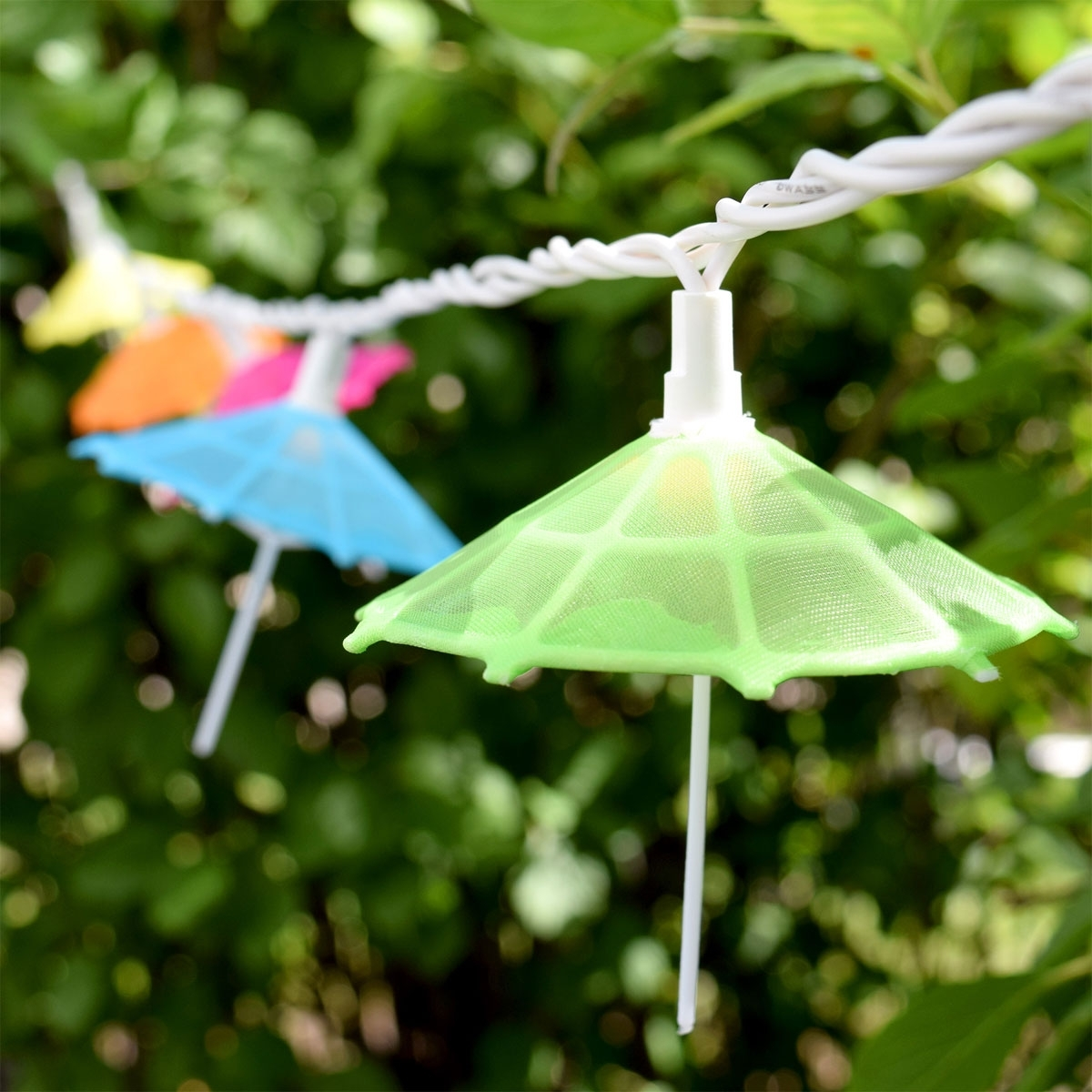 Most Recently Released Outdoor Tropical Lanterns For Mini Umbrella Party String Lights – 10 Lights (View 11 of 20)